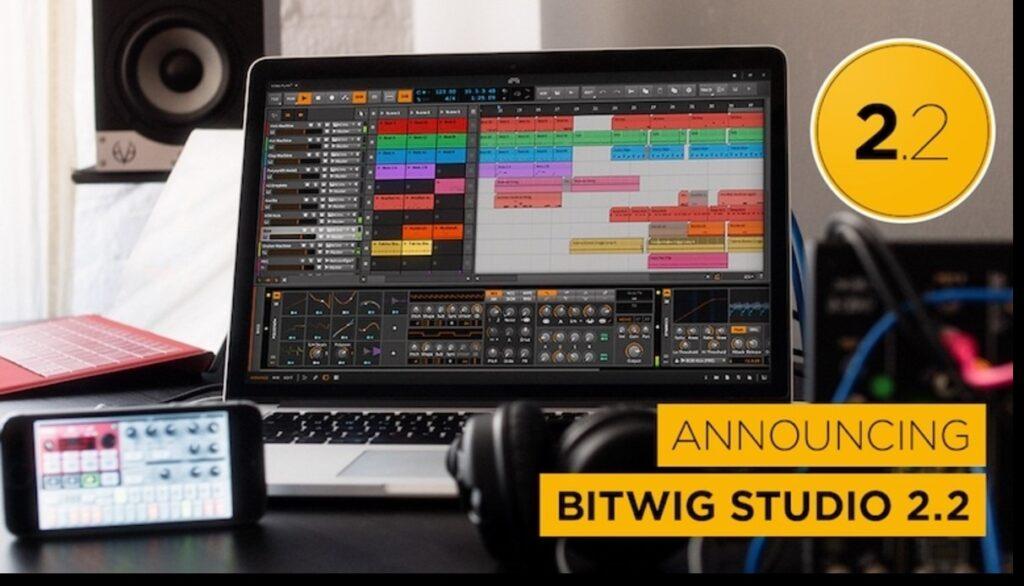 Bitwig Studio 2.2
