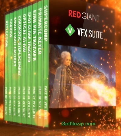 download RED GIANT VFX SUITE