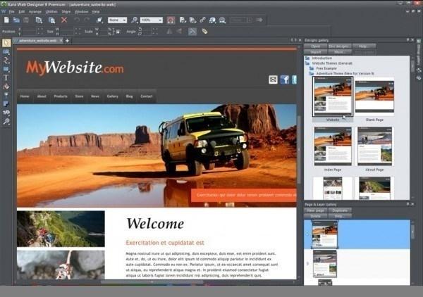 Xara Web Designer Premium  review
