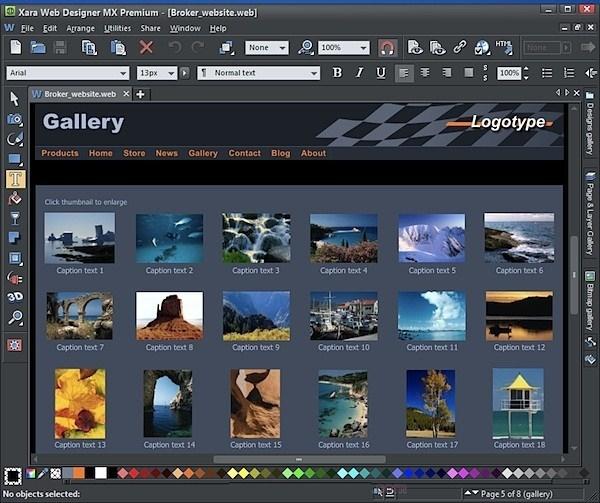Zara Web Designer Premium 15 Free Download Full Version