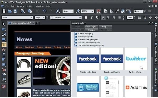 Xara Web Designer Premium 15 Offline Installer Download