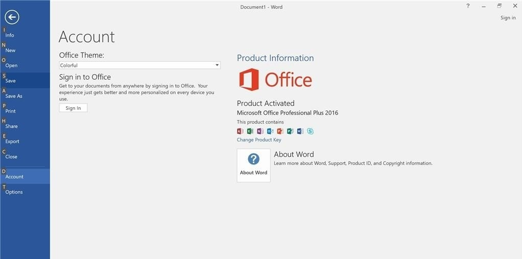 Download Microsoft Office 2016 Professional Plus