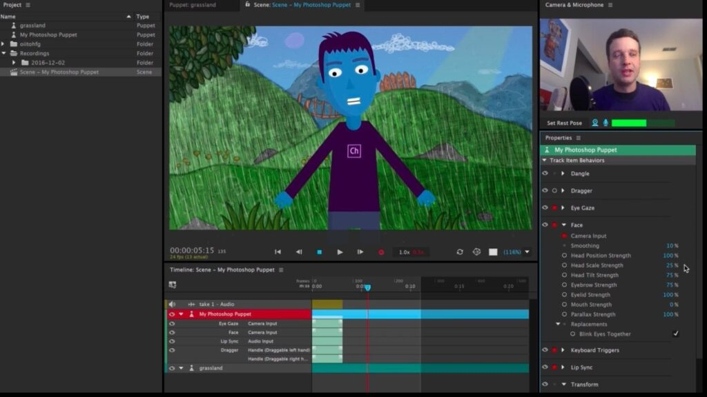 Download the latest version of Adobe Character Animator CC 2020 v3.2