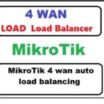 MikroTik 4 wan auto load balancing with the script