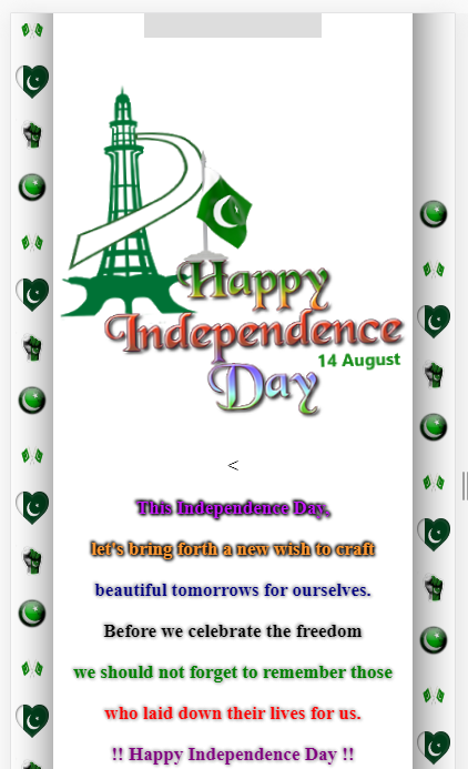 independence day whats app viral wishing script