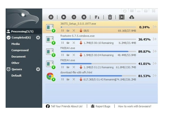 EagleGet 2.1.6 Free Download