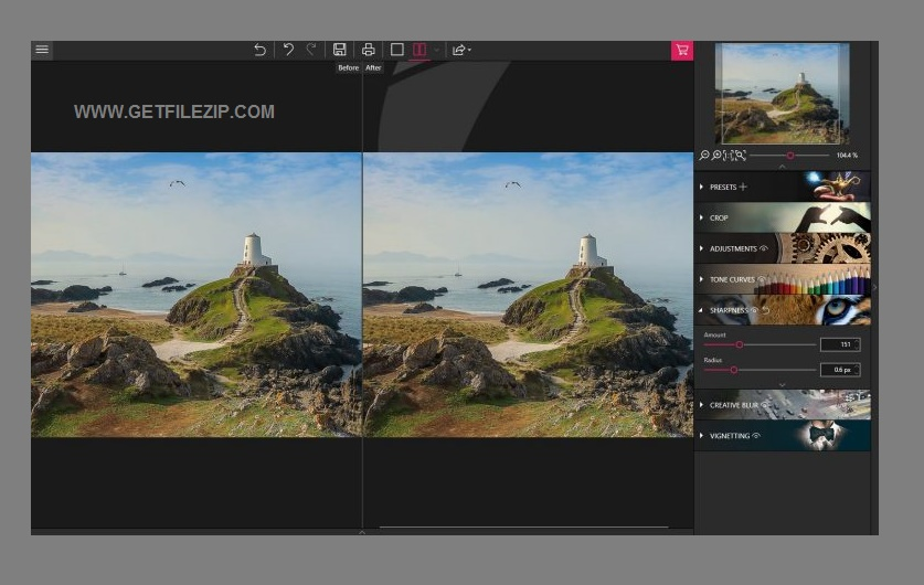 InPixio Photo Focus Professional 4.11 One-click download