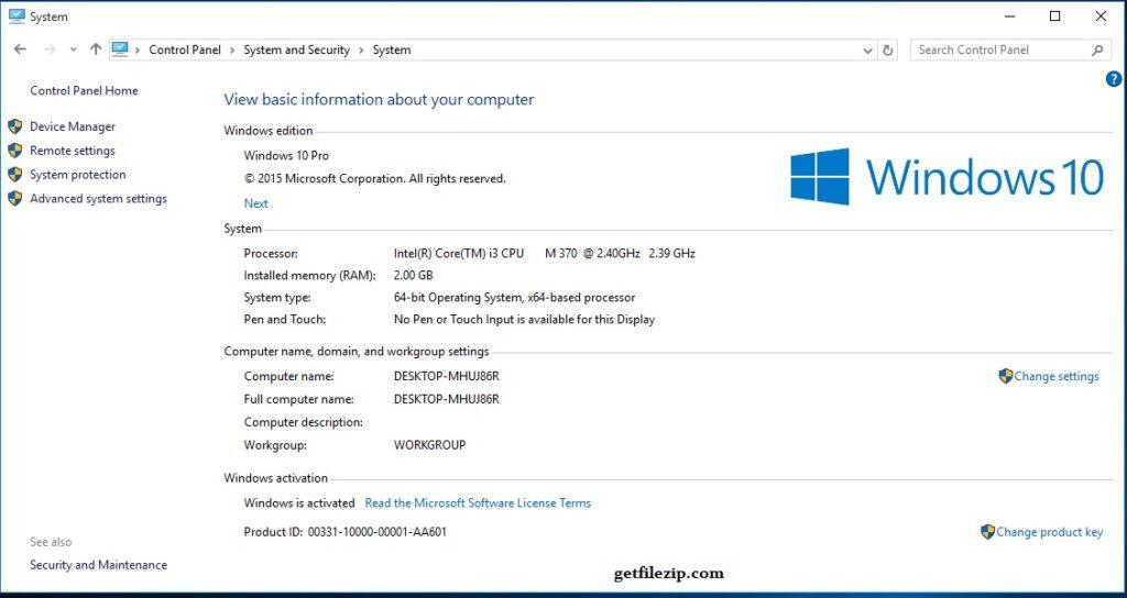 Windows 10 Pro Build 10240 ISO 32 / 64Bit Download Free