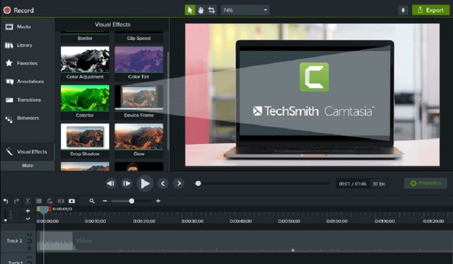 TechSmith Camtasia Studio 2020 Free Download