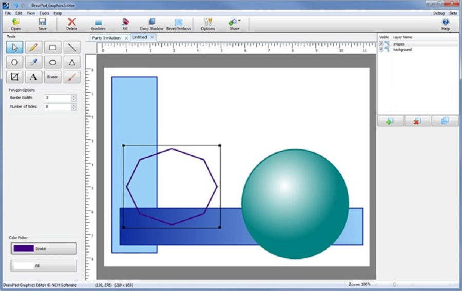 NCH DrawPad Pro 6.58 Direct Download Link
